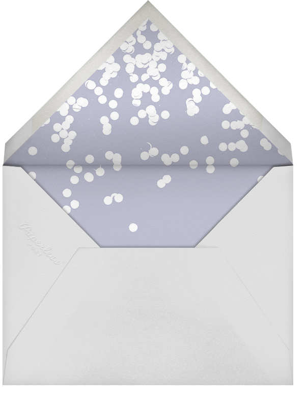 Exuberant - Gold - Kelly Wearstler - Corporate invitations - envelope back