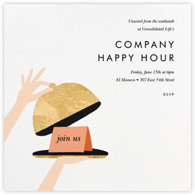 Cloche - Rifle Paper Co. - Happy Hour Invitations