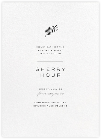 Blanc (Tall) - Paperless Post - Reception invitations