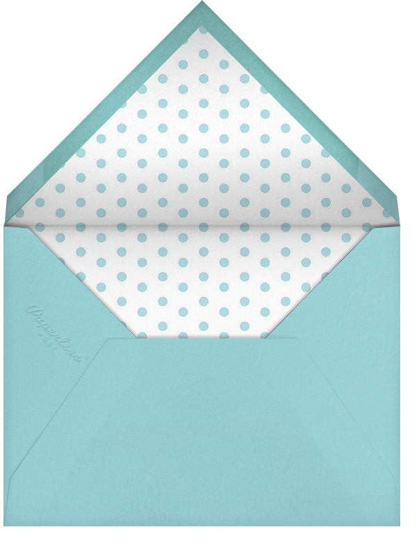 Birthday Balloon - Red - Paperless Post - Retirement party - envelope back