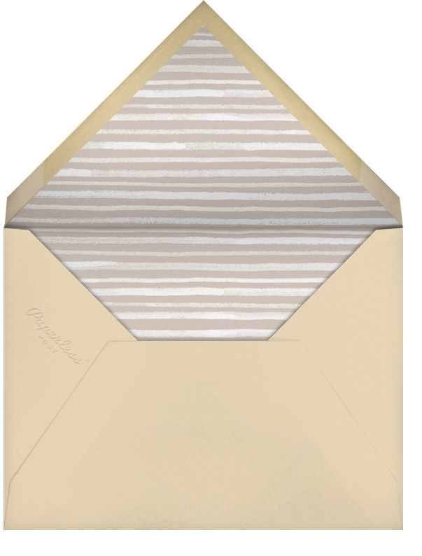 The Works - Paperless Post - Casual entertaining - envelope back
