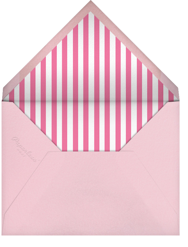 Carnaby - Pink - Paperless Post - Casual entertaining - envelope back