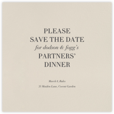 Santa Fe (Square Save the Date) - Paperless Post - Event save the dates