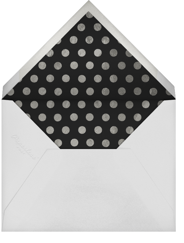 Deckle (Tall) - Silver - Paperless Post - Happy hour - envelope back