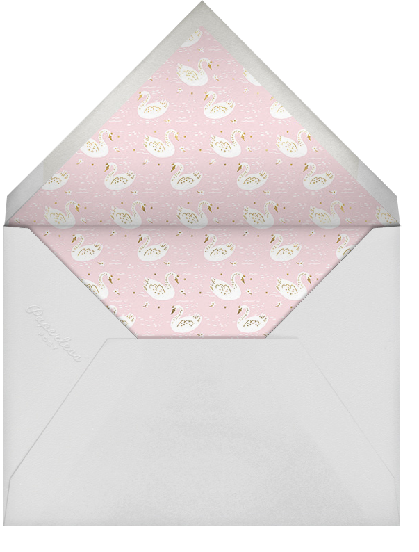 Fairy Tale Royalty - Blush - Hello!Lucky - Baby shower - envelope back