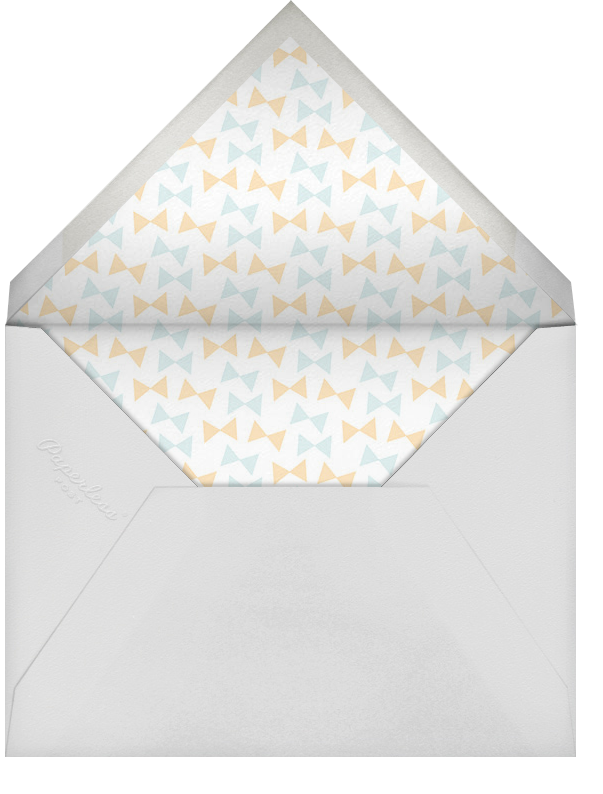 Little Peanut - Bellini - Hello!Lucky - Baby shower - envelope back