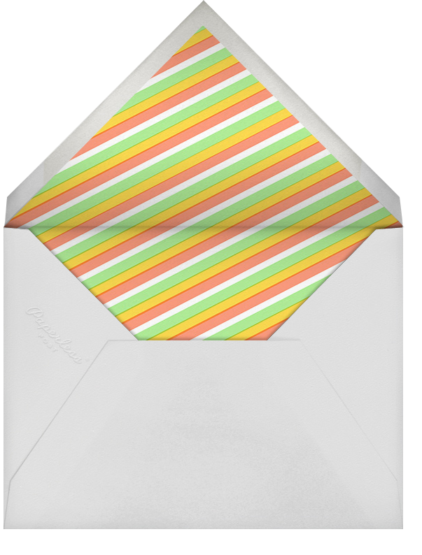 Taco the Town - Hello!Lucky - Baby shower - envelope back