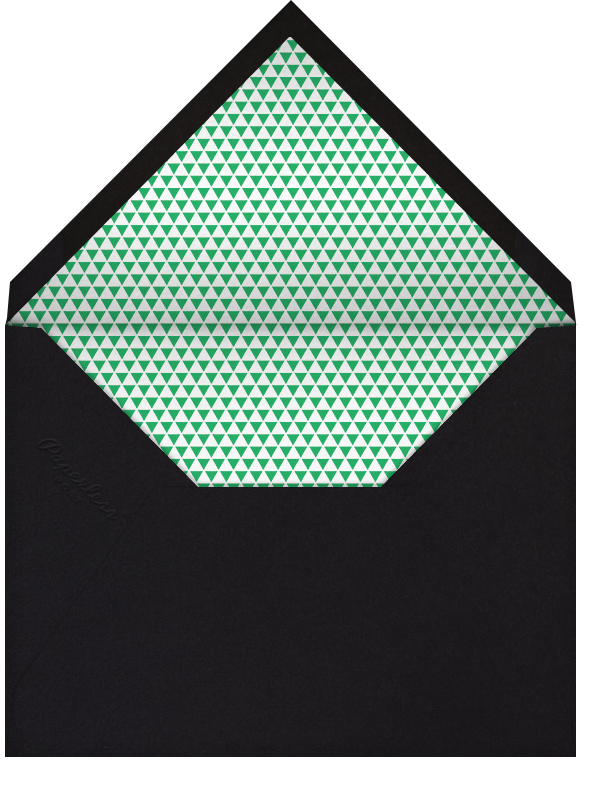 Savoy - Emerald - Paperless Post - Casual entertaining - envelope back