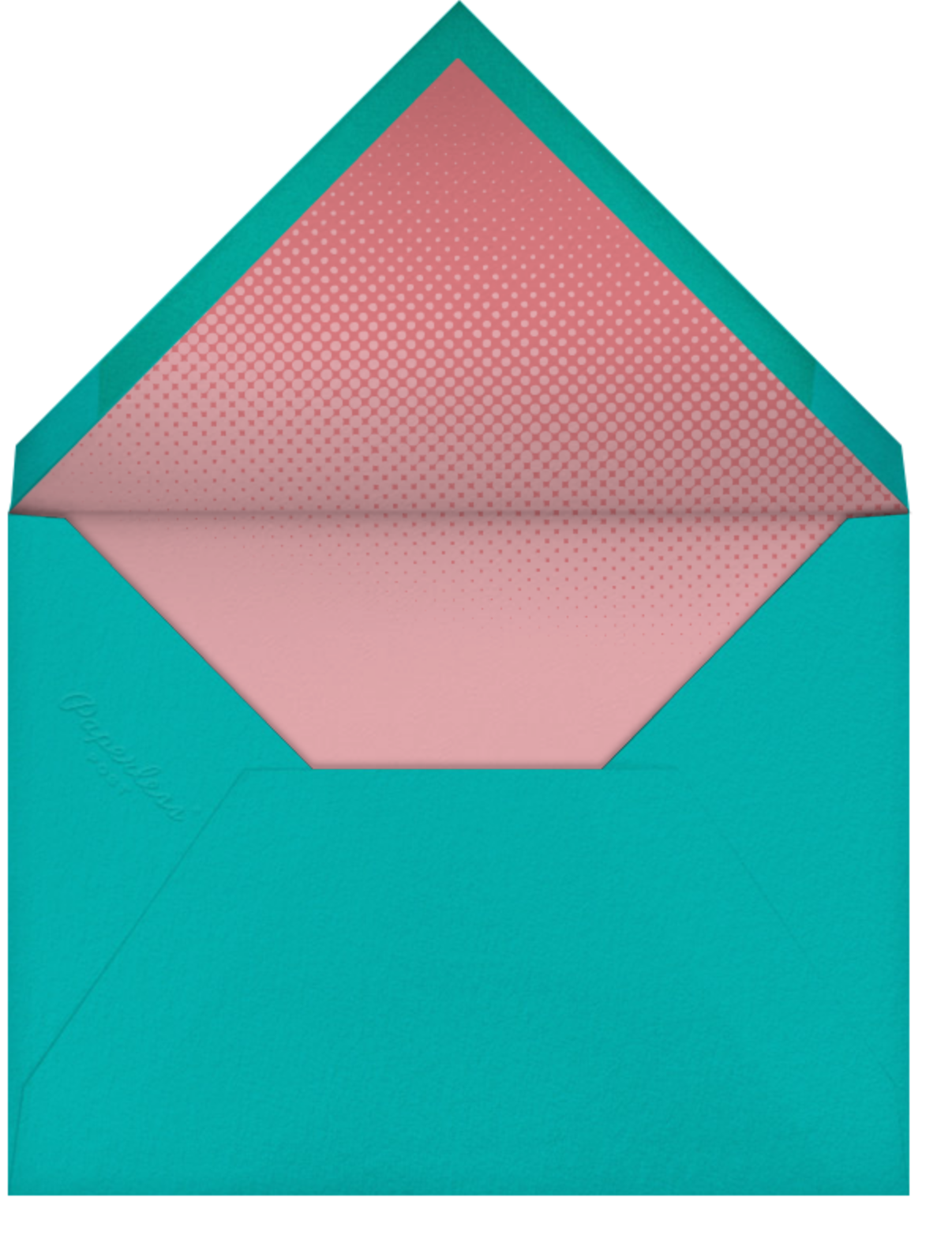 Quilt Block - Paperless Post - Professional events - envelope back