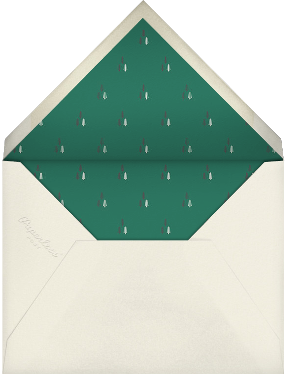 Moorish Silk - Paperless Post - Corporate invitations - envelope back