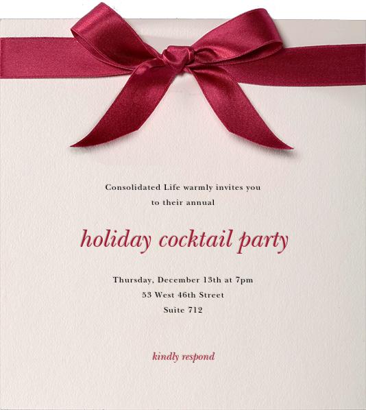 Moorish Silk - Paperless Post - Company holiday party