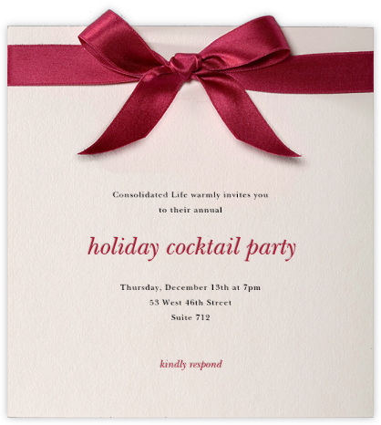 Moorish Silk - Paperless Post - Company holiday party