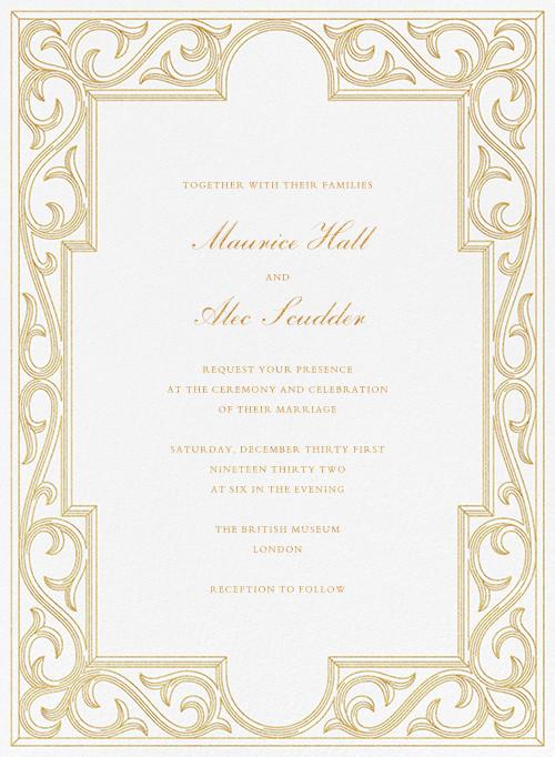 Sacher (Invitation) - Paperless Post - Wedding invitations