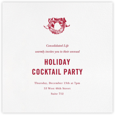 White (Square) - Paperless Post - Company holiday party