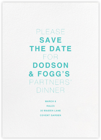 White (Tall) - Paperless Post - Event save the dates