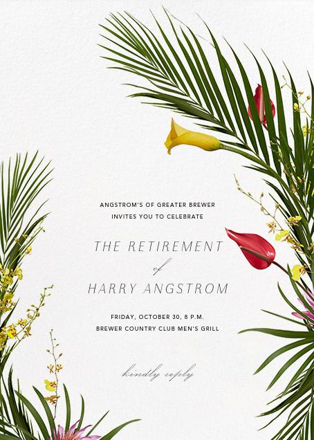 Malacca (Invitation) - Paperless Post - Retirement invitations, farewell invitations