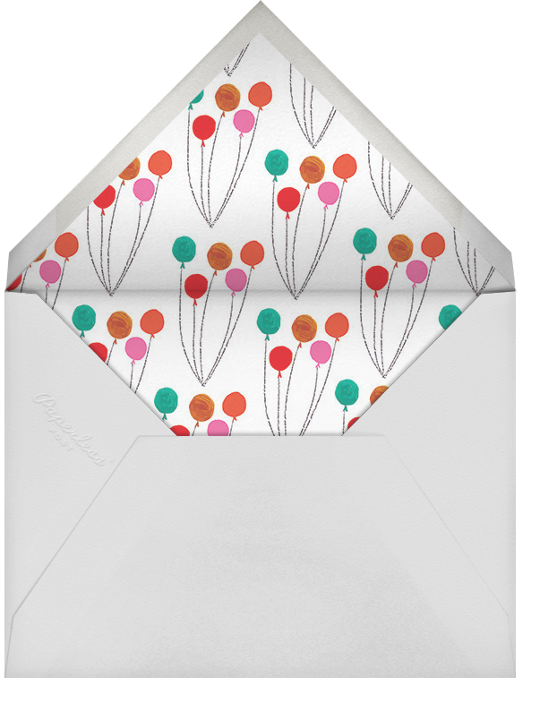 Mr. Bernstein's Balloon Ride - Mr. Boddington's Studio - Birthday - envelope back