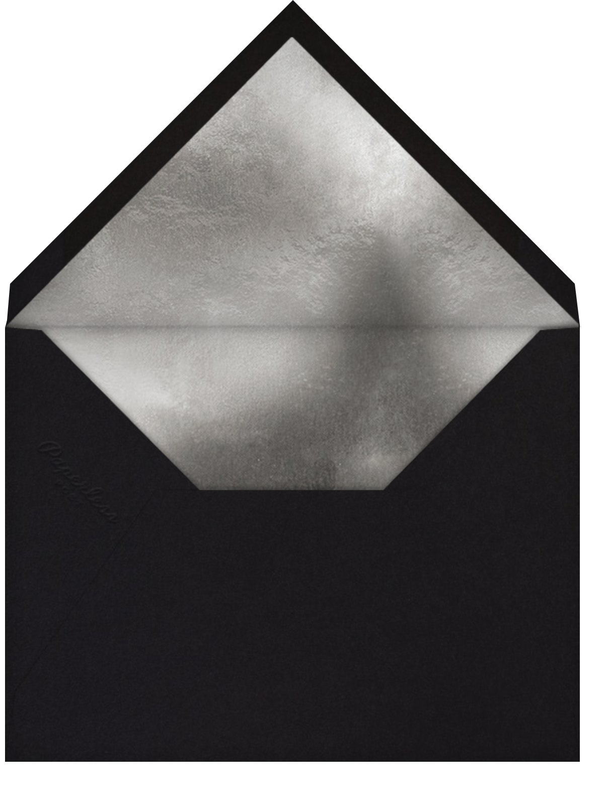 Pleiades (Invitation) - Black - Paperless Post - All - envelope back