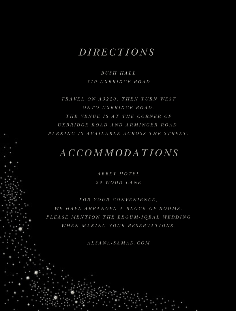 Pleiades (Invitation) - Black - Paperless Post - All - insert front