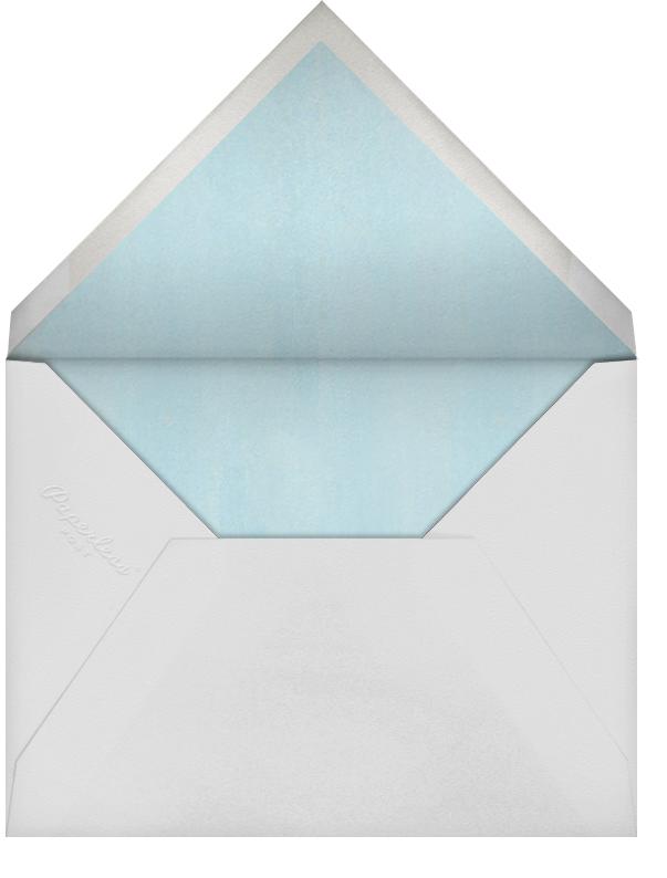Monstera - Paperless Post - Casual entertaining - envelope back