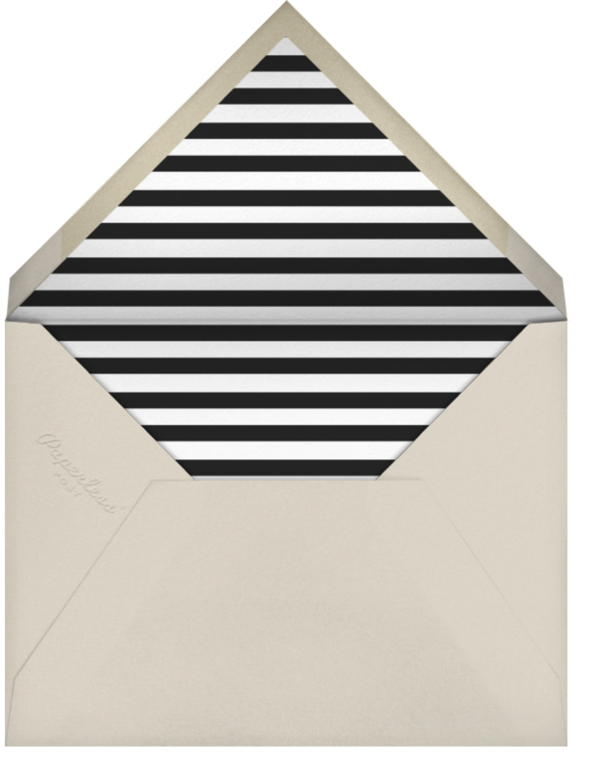 Admit One - Hannah Berman - Professional events - envelope back