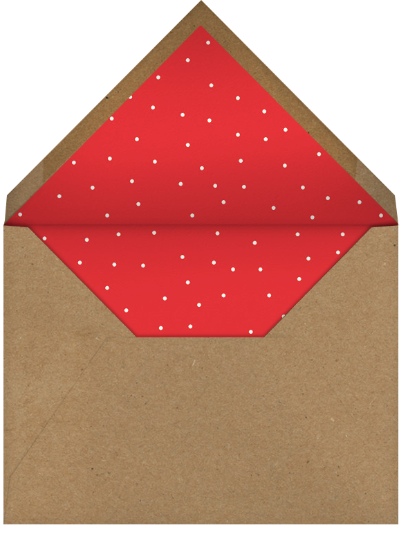 Graphic Christmas Tree - Paperless Post - Corporate invitations - envelope back