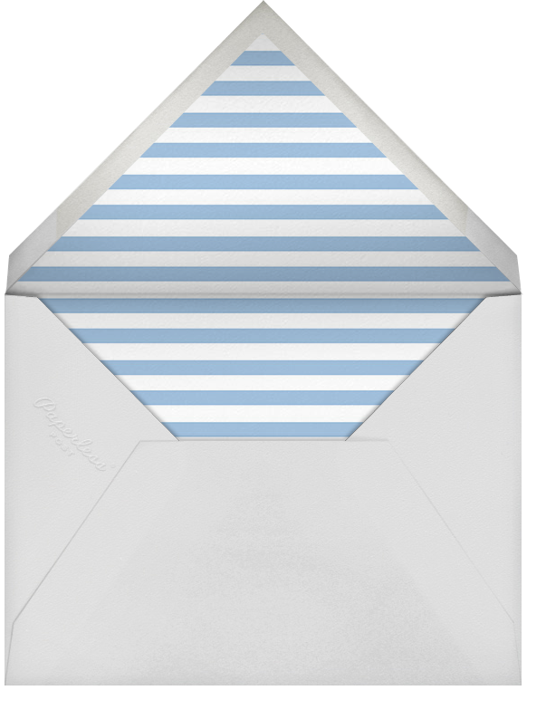 Gradient Messy Strokes - Blue - Paperless Post - Casual entertaining - envelope back