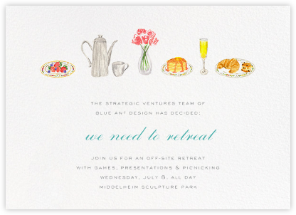 Brunch - Paperless Post - Business Party Invitations