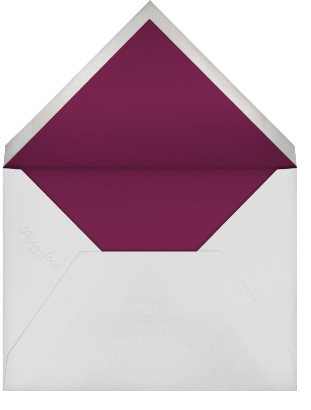 Vineyard I (Invitation) - Burgundy - Paperless Post - Professional events - envelope back