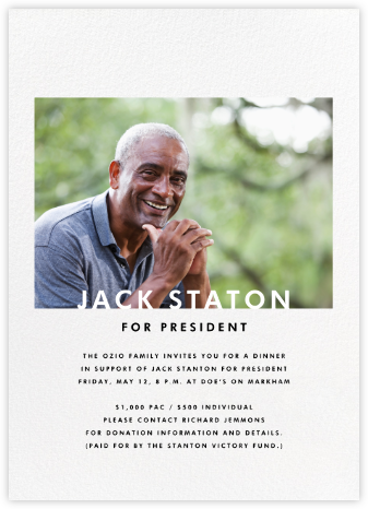 Horizontal Photo on Tall - Paperless Post - Invitations