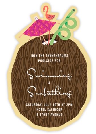 Lime in My Coconut - Paperless Post - Summer entertaining invitations