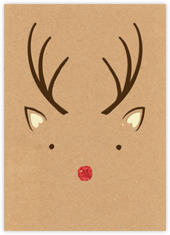 Mr. Rudolph - Paperless Post - Holiday invitations