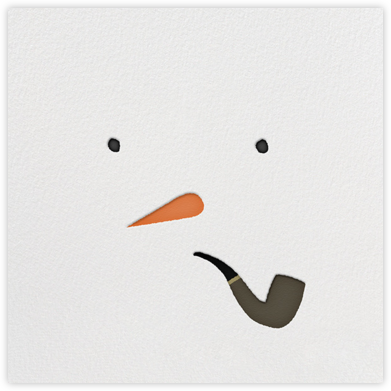 Mr. Snowman - Paperless Post - Holiday invitations