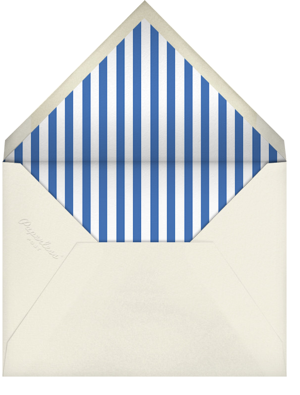 Halftone - Paperless Post - Retirement party - envelope back