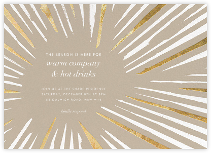 Amuse - Kelly Wearstler - Holiday invitations