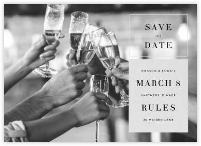 Chronicle (Save the Date) - Paperless Post - Save the dates