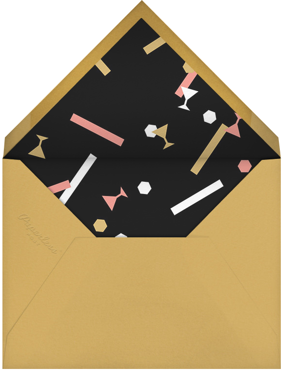 Idylle (Photo) - Gold - Paperless Post - Happy hour - envelope back
