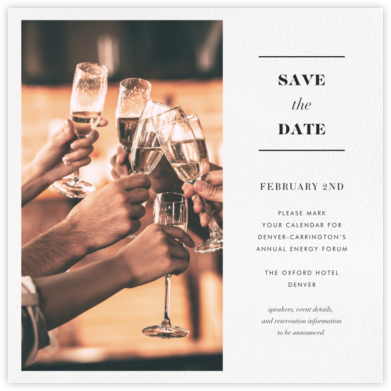 Split Square (Save the Date) - Paperless Post - Event save the dates