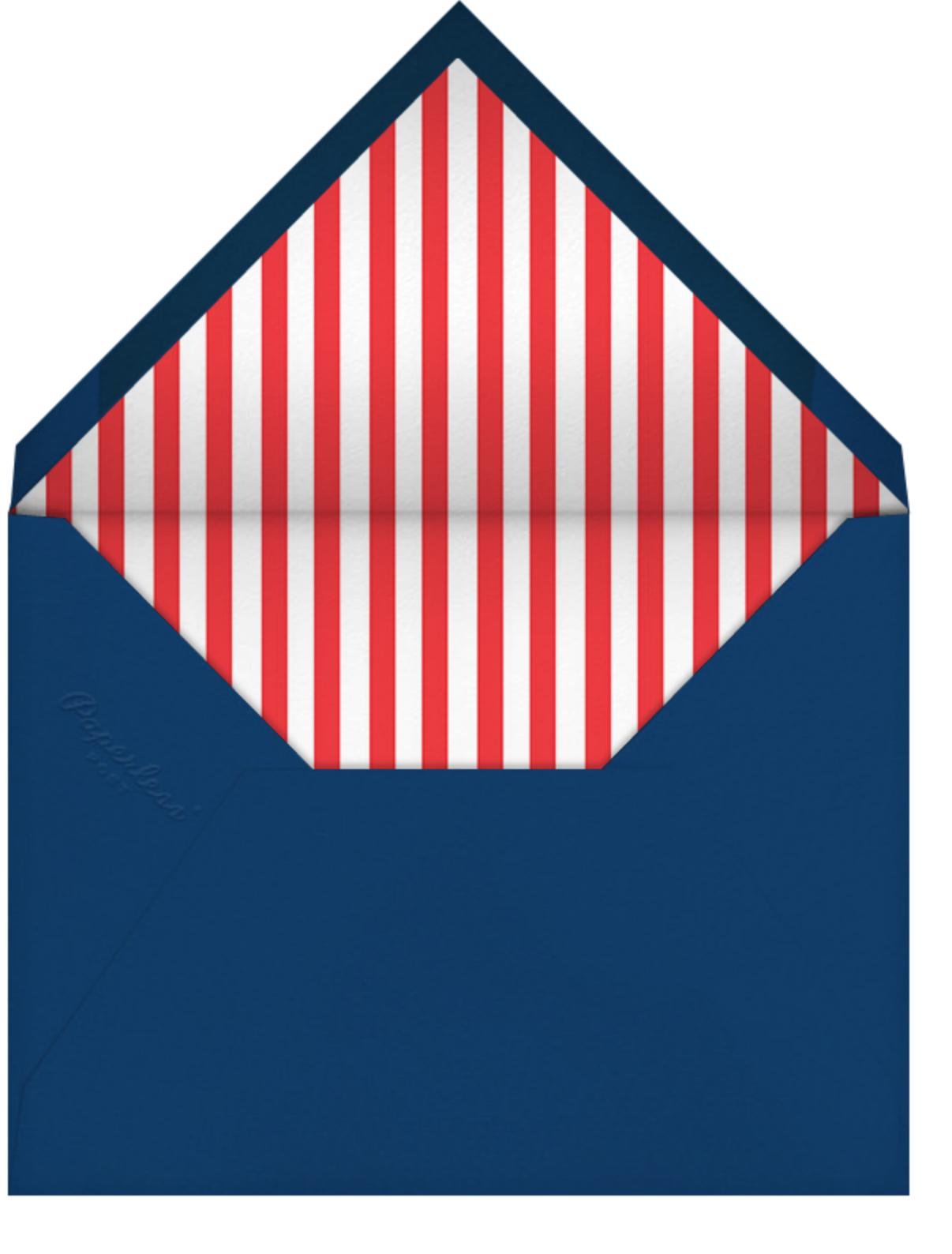 Par Avion (Horizontal) - Paperless Post - Retirement party - envelope back