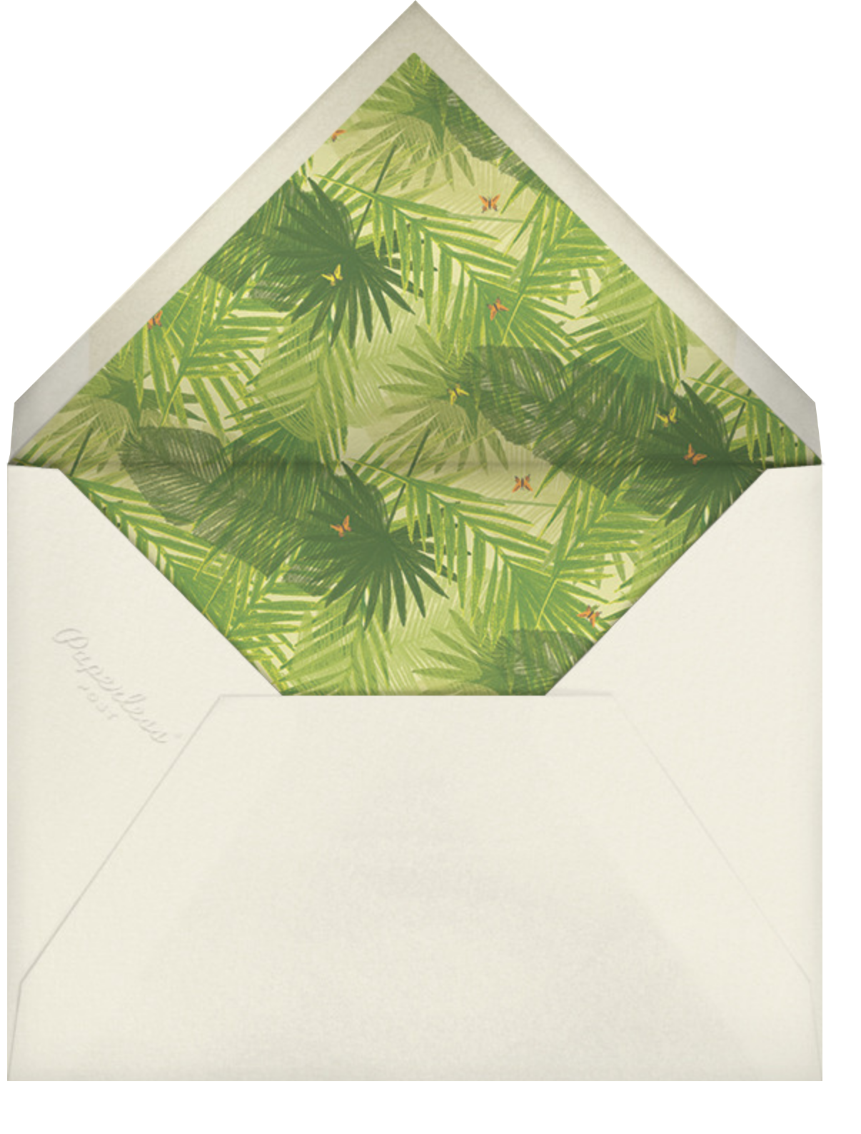 Ette - Paperless Post - Engagement party - envelope back