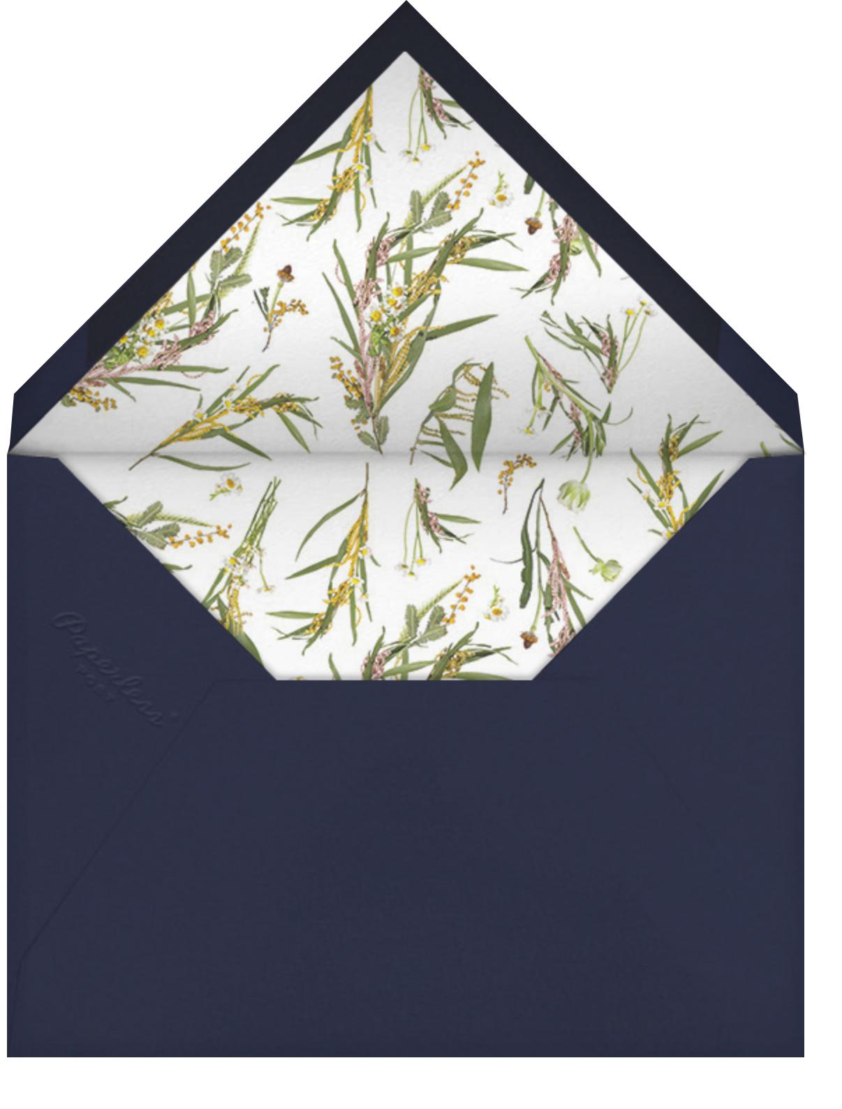 Horizontal Photo on Tall - Paperless Post - Wedding - envelope back