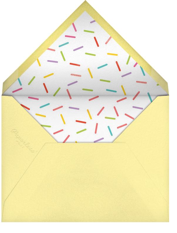 Birthday Balloon - Lemon Drop - Paperless Post - Adult birthday - envelope back