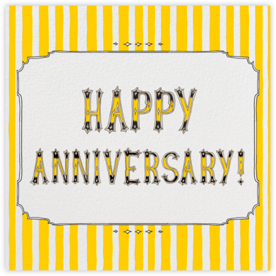 Cirque - Happy Anniversary - Paperless Post -