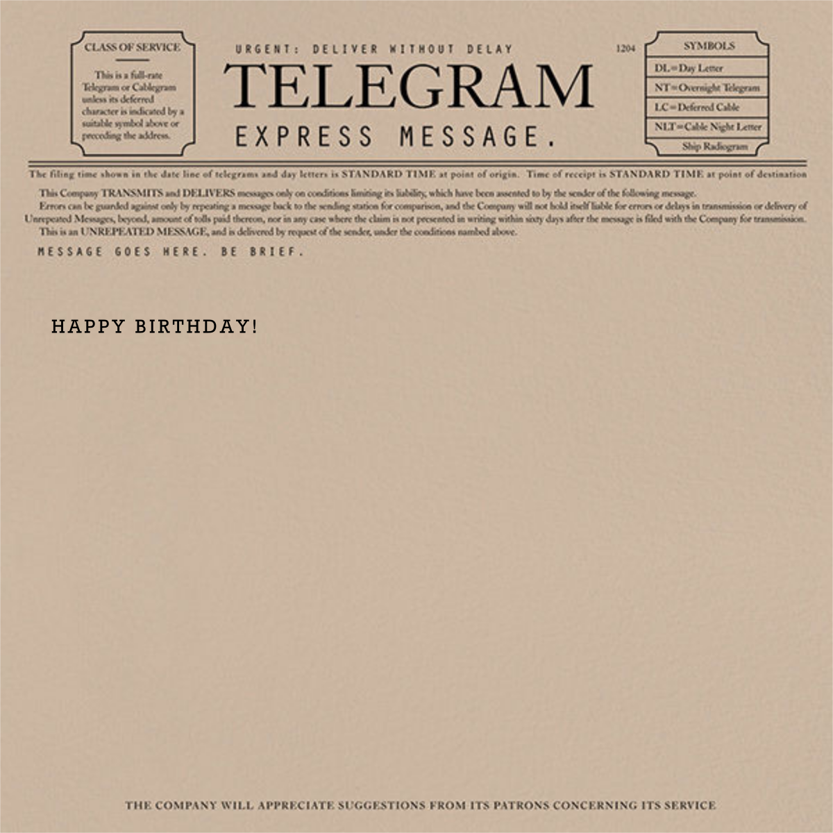 Super Telegram Happy Birthday Card Send Online Instantly Track Opens Funny Birthday Cards Online Fluifree Goldxyz
