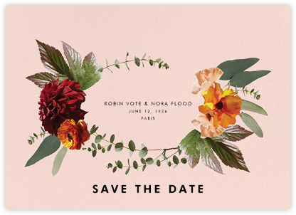 Leiden (Save the Date) - Meringue - Paperless Post - Modern save the dates