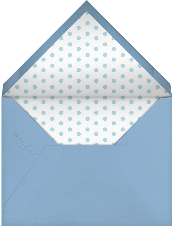 Gradient Brush Strokes - Blue - Paperless Post - Cocktail party - envelope back