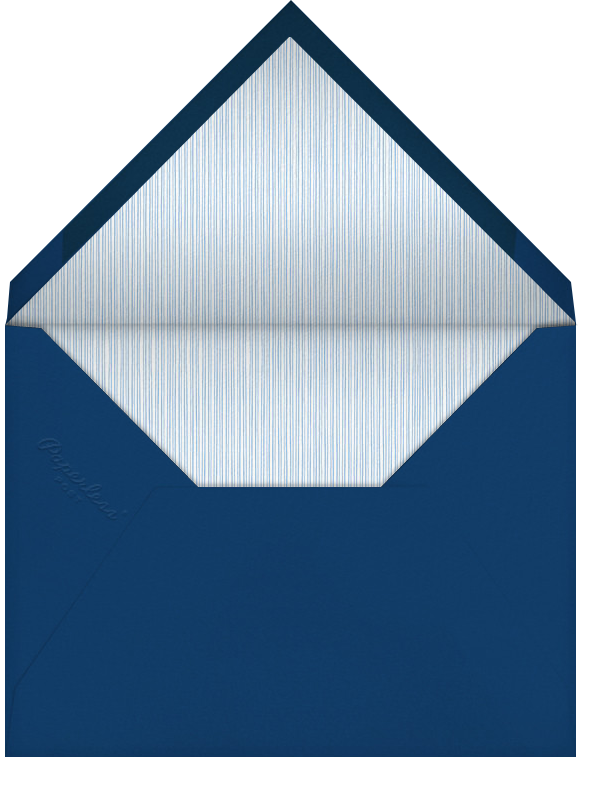 Gradient Painted - Blue - Paperless Post - Bar and bat mitzvah - envelope back
