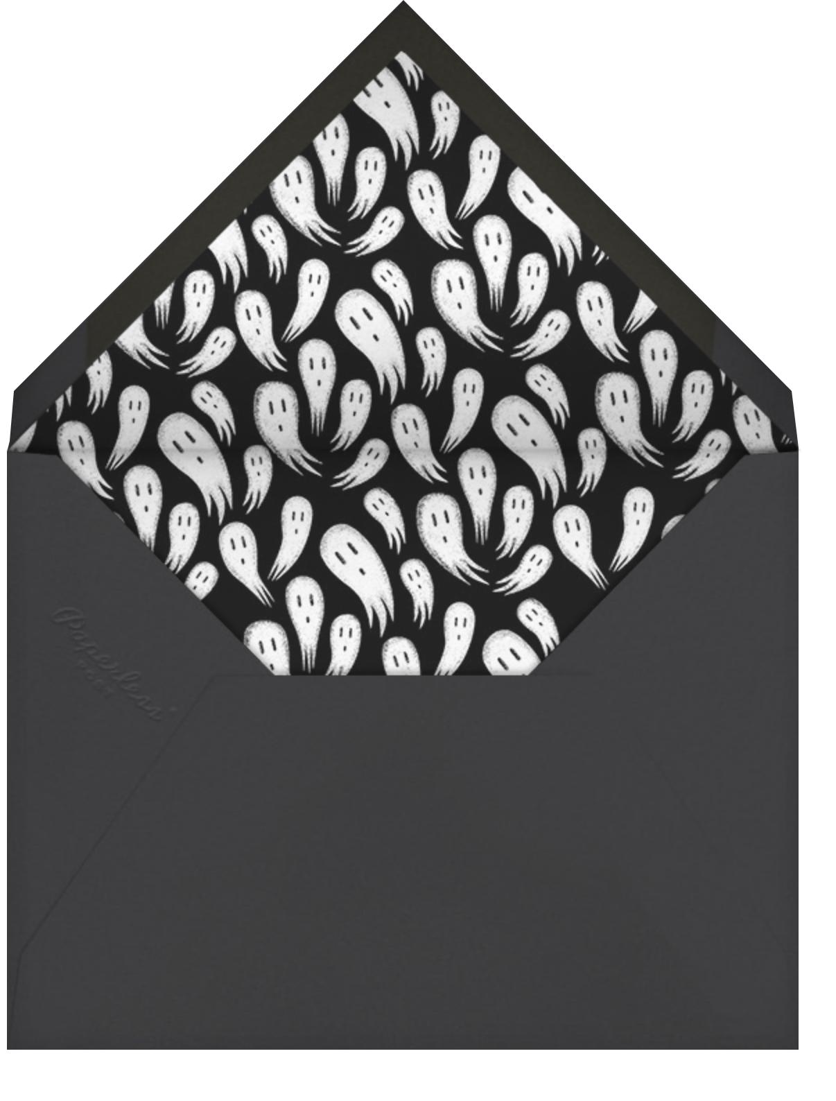 Tombstone - Paperless Post - Halloween - envelope back