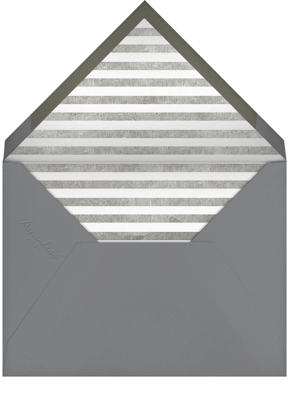 It's Time To Celebrate - Silver - Paperless Post - Graduation party - envelope back