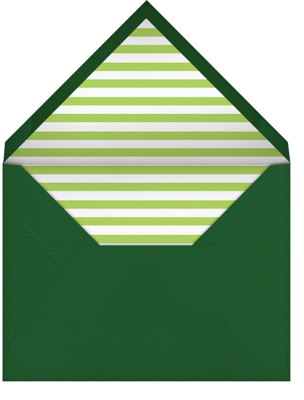 Gradient Full - Green - Paperless Post - Cocktail party - envelope back